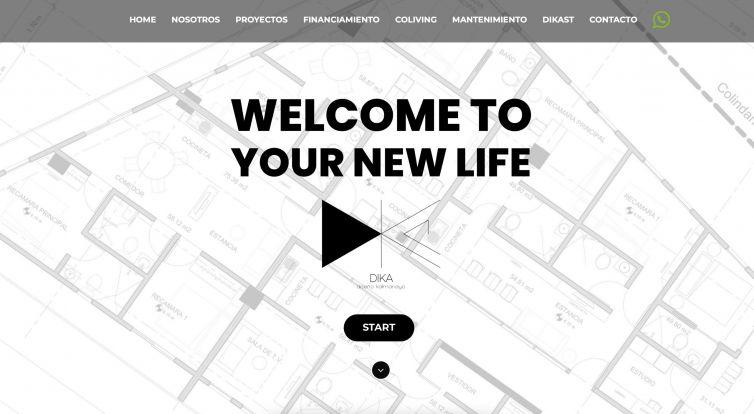 Proyecto WEB Kalmanayo Arquitectos